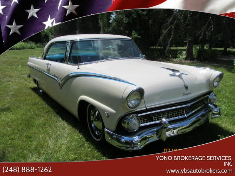 1955 Ford Fairlane for sale at Yono Brokerage Services, INC in Farmington MI