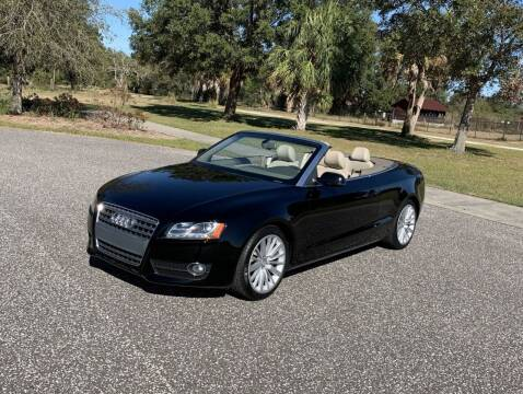 2011 Audi A5 for sale at P J'S AUTO WORLD-CLASSICS in Clearwater FL