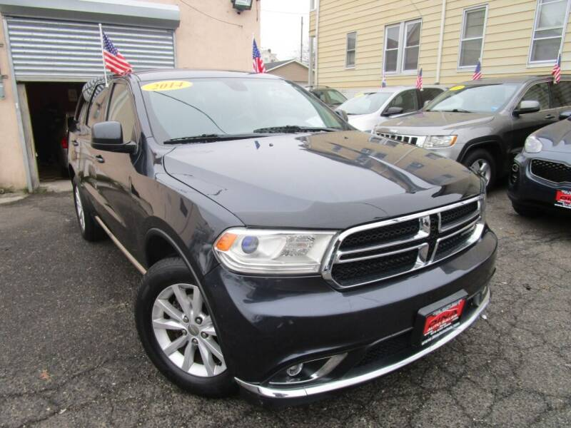2014 Dodge Durango for sale at Dina Auto Sales in Paterson NJ