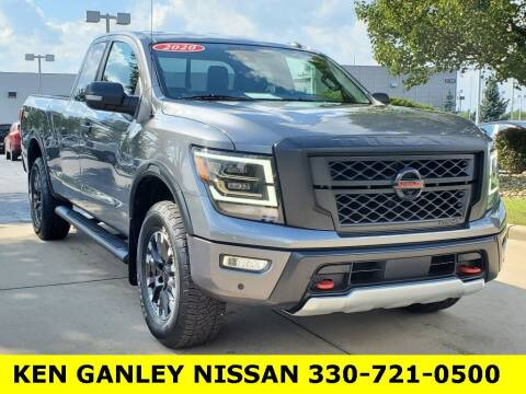 2020 Nissan Titan for sale at Ken Ganley Nissan in Medina OH