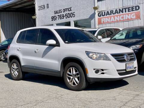 2011 Volkswagen Tiguan for sale at Auto Source in Banning CA