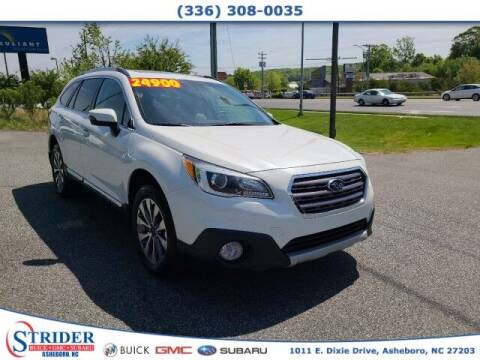 2017 Subaru Outback for sale at STRIDER BUICK GMC SUBARU in Asheboro NC