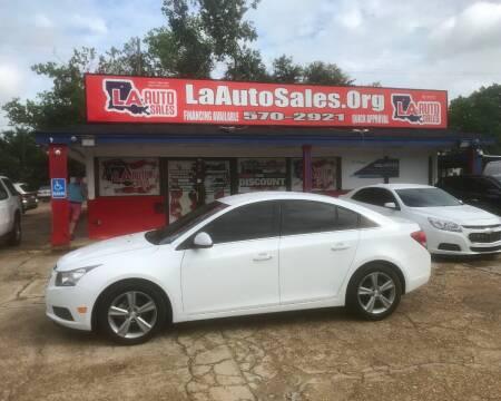 2014 Chevrolet Cruze for sale at LA Auto Sales in Monroe LA