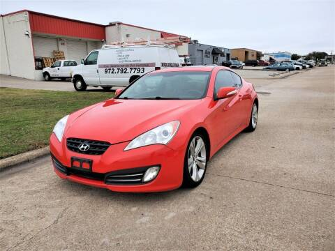 2011 Hyundai Genesis Coupe for sale at Image Auto Sales in Dallas TX