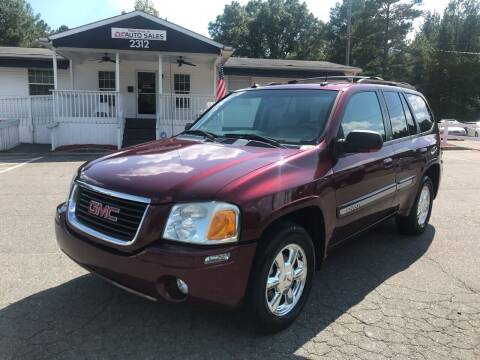 2004 GMC Envoy for sale at CVC AUTO SALES in Durham NC