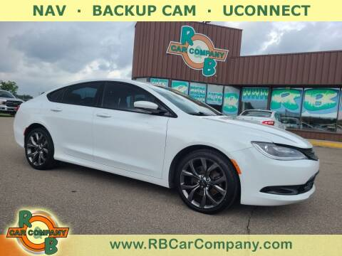 2015 Chrysler 200 for sale at R & B Car Co in Warsaw IN