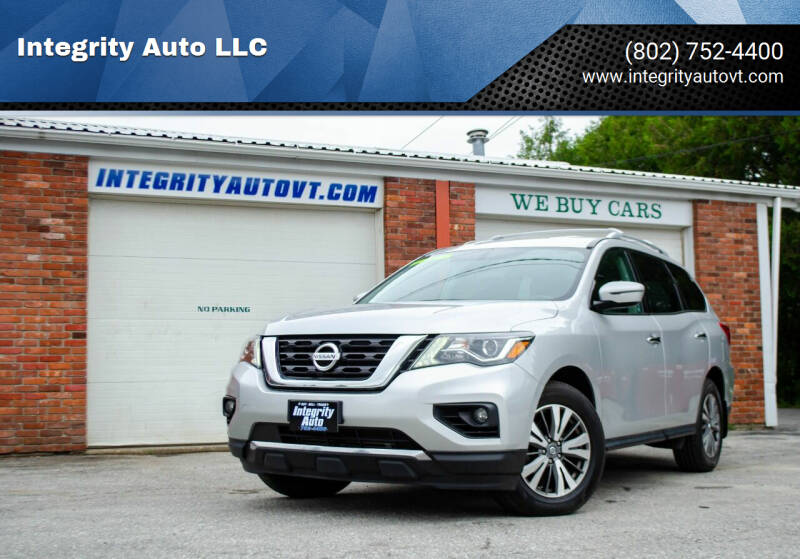 2017 Nissan Pathfinder for sale at Integrity Auto 2.0 in Saint Albans VT