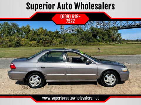 2000 Honda Accord for sale at Superior Auto Wholesalers in Burlington NJ