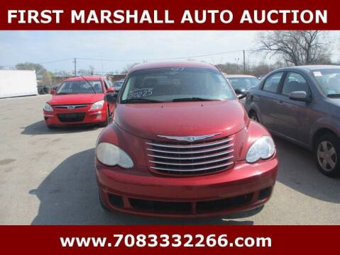 2007 Chrysler PT Cruiser for sale at First Marshall Auto Auction in Harvey IL
