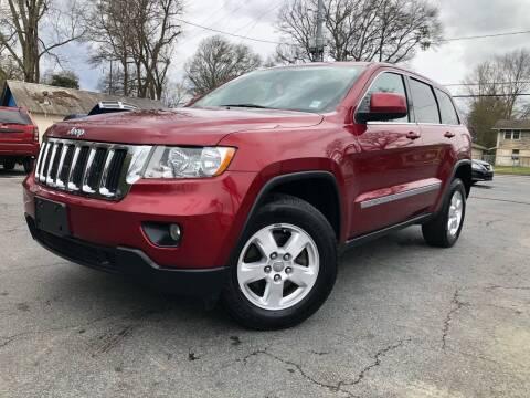 2012 Jeep Grand Cherokee for sale at Atlas Auto Sales in Smyrna GA