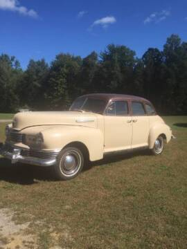 1948 Nash Ambassador for sale at Classic Car Deals in Cadillac MI