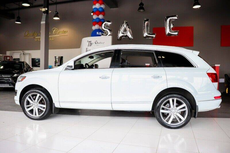 2013 Audi Q7 for sale at Quality Auto Center of Springfield in Springfield NJ