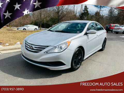 2014 Hyundai Sonata for sale at Freedom Auto Sales in Chantilly VA