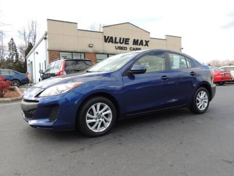 2013 Mazda MAZDA3 for sale at ValueMax Used Cars in Greenville NC