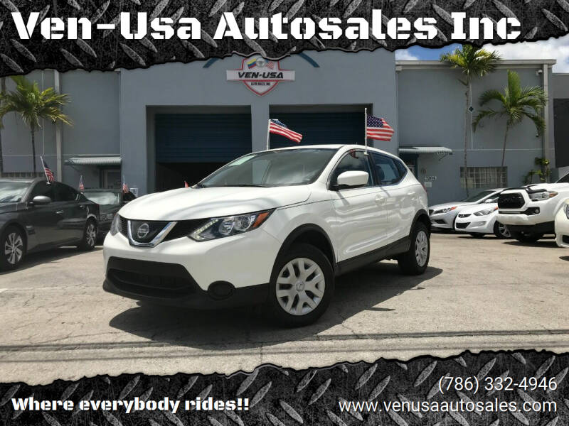 2019 Nissan Rogue Sport for sale at Ven-Usa Autosales Inc in Miami FL