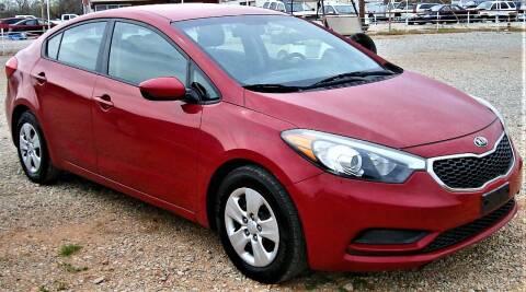 2016 Kia Forte for sale at Advantage Auto Sales in Wichita Falls TX