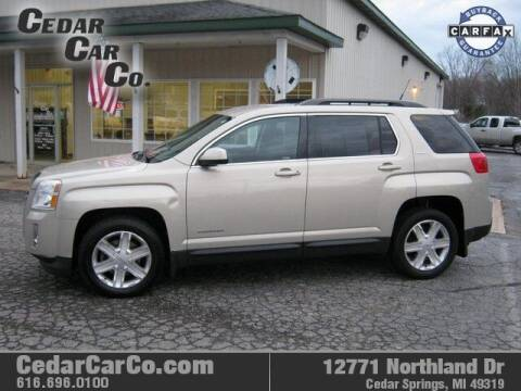 2011 GMC Terrain for sale at Cedar Car Co in Cedar Springs MI