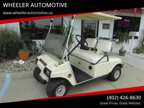 1985 Club Car Golf Cart for sale at WHEELER AUTOMOTIVE in Blair NE