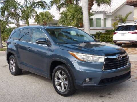 2015 Toyota Highlander for sale at Lifetime Automotive Group in Pompano Beach FL