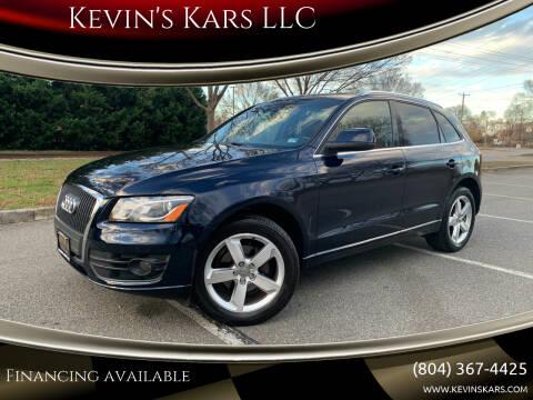 2011 Audi Q5 for sale at Kevin's Kars LLC in Richmond VA