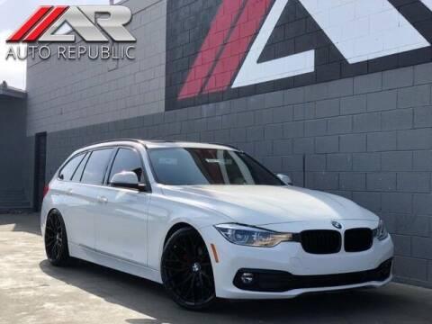 2016 BMW 3 Series for sale at Auto Republic Fullerton in Fullerton CA