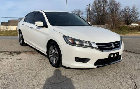 2013 Honda Accord for sale at InstaCar LLC in Independence MO