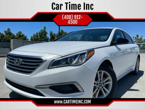2016 Hyundai Sonata for sale at Car Time Inc in San Jose CA
