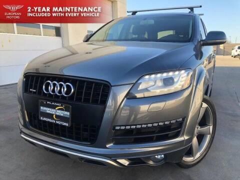 2014 Audi Q7 for sale at European Motors Inc in Plano TX
