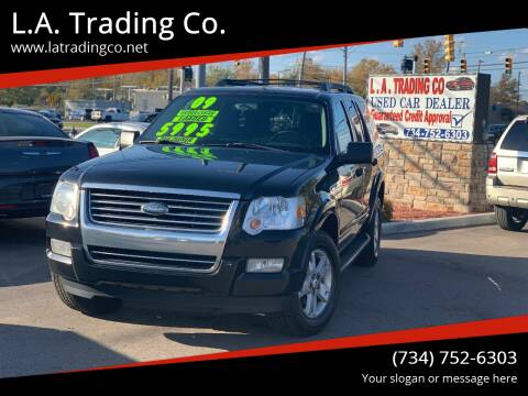 2009 Ford Explorer for sale at L.A. Trading Co. Woodhaven in Woodhaven MI