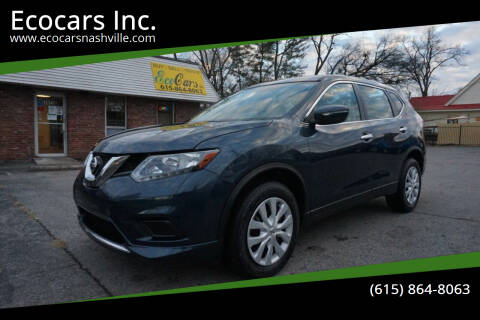 2015 Nissan Rogue for sale at Ecocars Inc. in Nashville TN