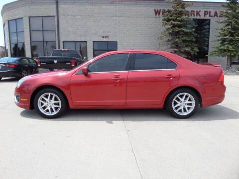 2012 Ford Fusion for sale at Elite Motors in Fargo ND