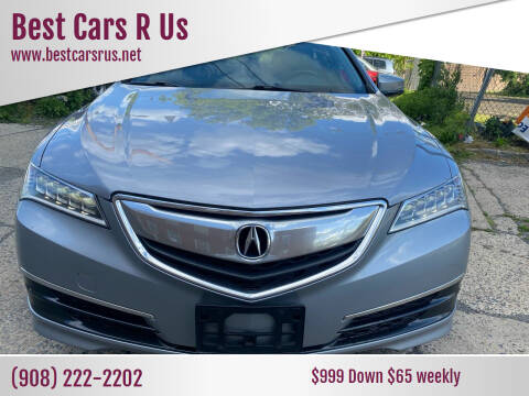 2015 Acura TLX for sale at Best Cars R Us in Plainfield NJ