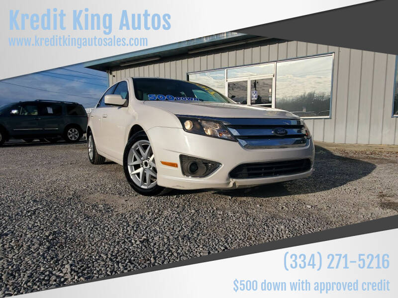 2010 Ford Fusion for sale at Kredit King Autos in Montgomery AL