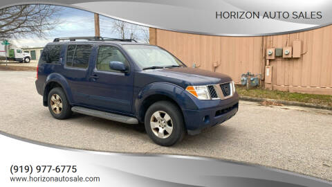 2006 Nissan Pathfinder for sale at Horizon Auto Sales in Raleigh NC