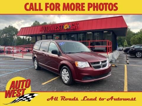 2018 Dodge Grand Caravan for sale at Autowest of GR in Grand Rapids MI