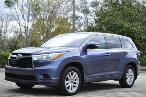 2016 Toyota Highlander for sale at Vision Motors, Inc. in Winter Garden FL