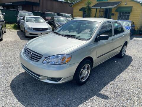 2003 Toyota Corolla for sale at Velocity Autos in Winter Park FL