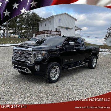 2020 GMC Sierra 2500HD for sale at RamKnick Motors LLC in Pekin IL