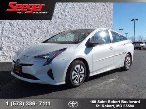 2018 Toyota Prius for sale at SEEGER TOYOTA OF ST ROBERT in St Robert MO