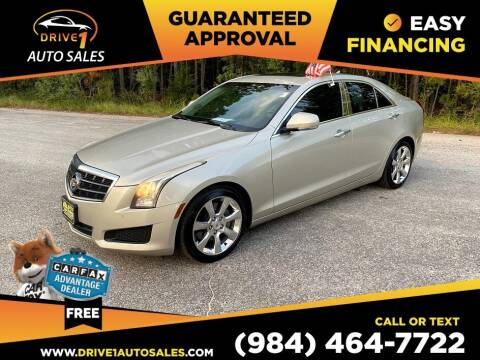 2013 Cadillac ATS for sale at Drive 1 Auto Sales in Wake Forest NC