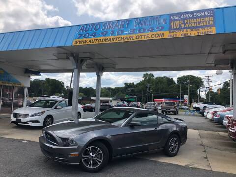 2013 Ford Mustang for sale at Auto Smart Charlotte in Charlotte NC