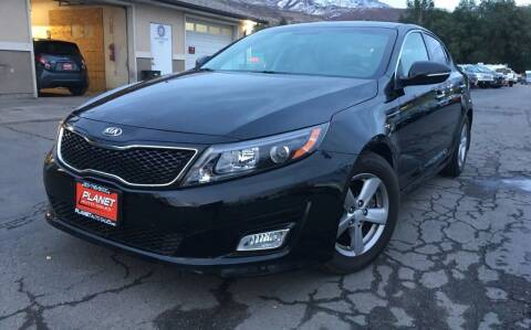 2014 Kia Optima for sale at PLANET AUTO SALES in Lindon UT