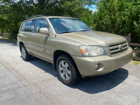 2005 Toyota Highlander for sale at Front Porch Motors Inc. in Conyers GA