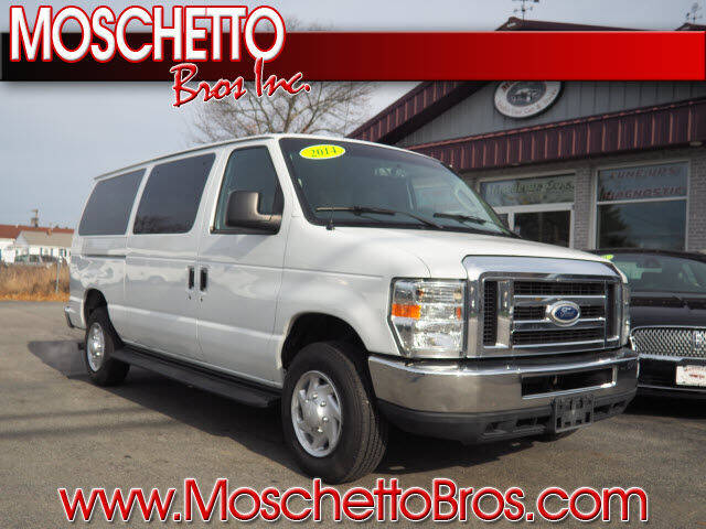 2014 Ford E-Series Wagon for sale at Moschetto Bros. Inc in Methuen MA