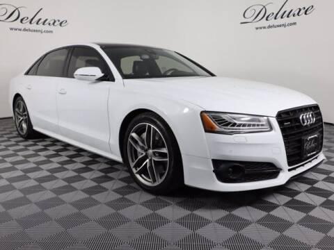 2017 Audi A8 L for sale at DeluxeNJ.com in Linden NJ