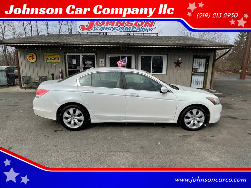 2008 Honda Accord for sale at Johnson Car Company llc in Crown Point IN