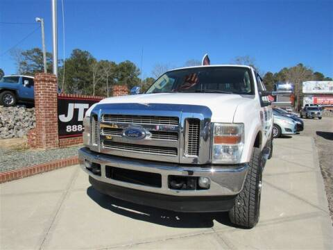 2008 Ford F-250 Super Duty for sale at J T Auto Group in Sanford NC