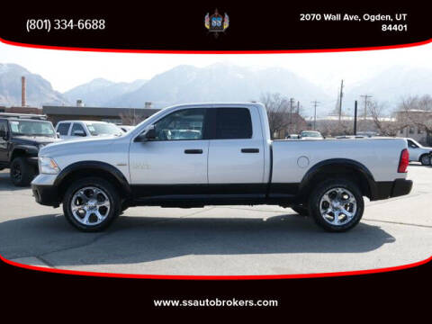 2017 RAM Ram Pickup 1500 for sale at S S Auto Brokers in Ogden UT