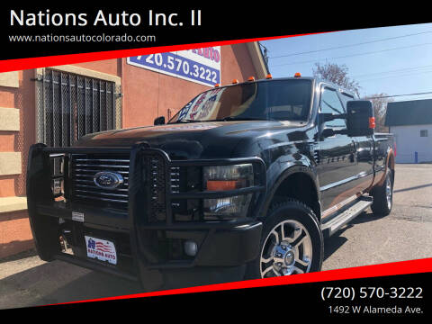 2008 Ford F-350 Super Duty for sale at Nations Auto Inc. II in Denver CO