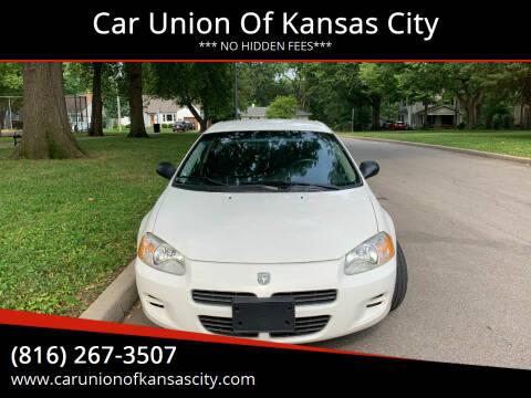 2002 Dodge Stratus for sale at Car Union Of Kansas City in Kansas City MO